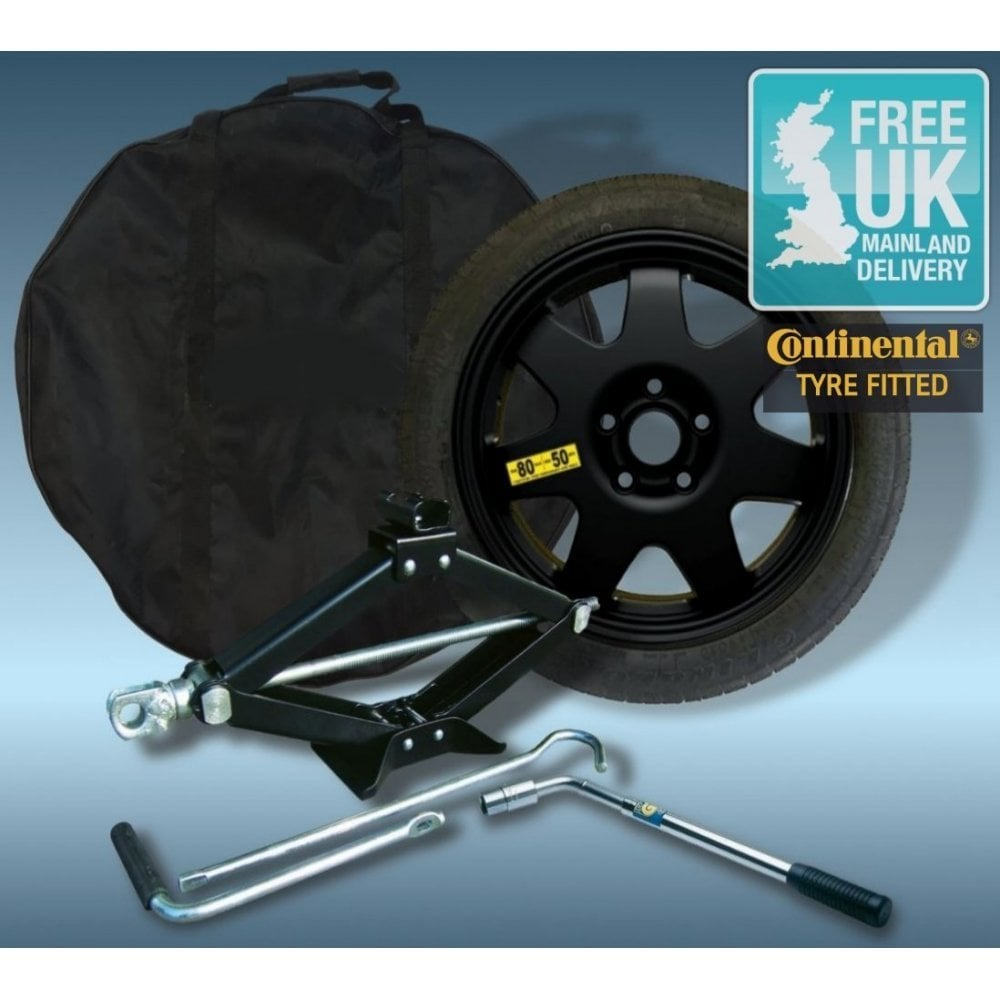 Space Saver Spare Wheel And Tyre Kit For NISSAN QASHQAI