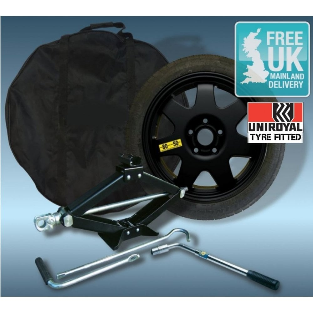 Space Saver Spare Wheel And Tyre Kit For Skoda Yeti 2009