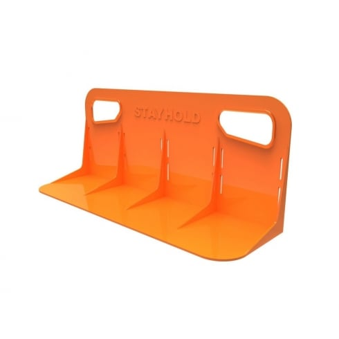 classic large orange car boot organiser