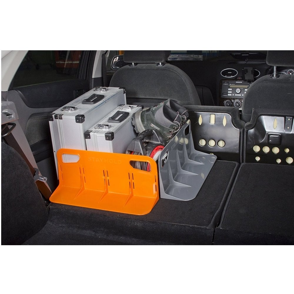 Stayhold large orange car boot organiser from Direct Car Parts
