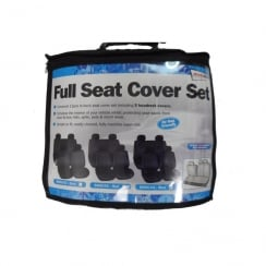 Full car Blue Seat Cover Set (Airbag friendly)