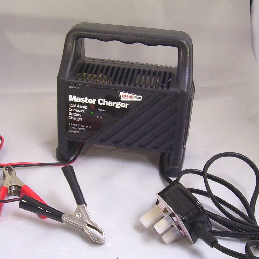 Streetwize Swcbc4 Battery Charger From Direct Car Parts