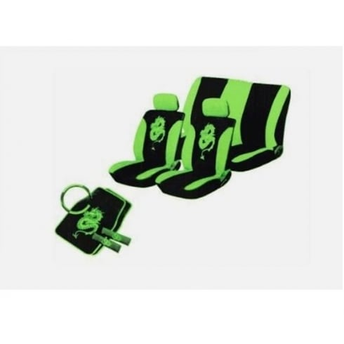 Sumex Dragon seat covers, harness pads and steering wheel cover.