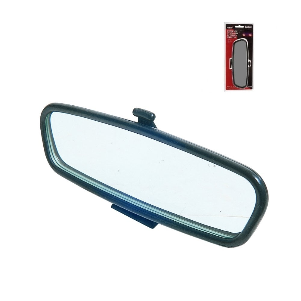 Car Mirror Replacement >> Rv75 Stick On Replacement Interior Car Mirror With Dipping Facility