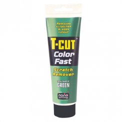 T-Cut Color Fast scratch remover for green cars
