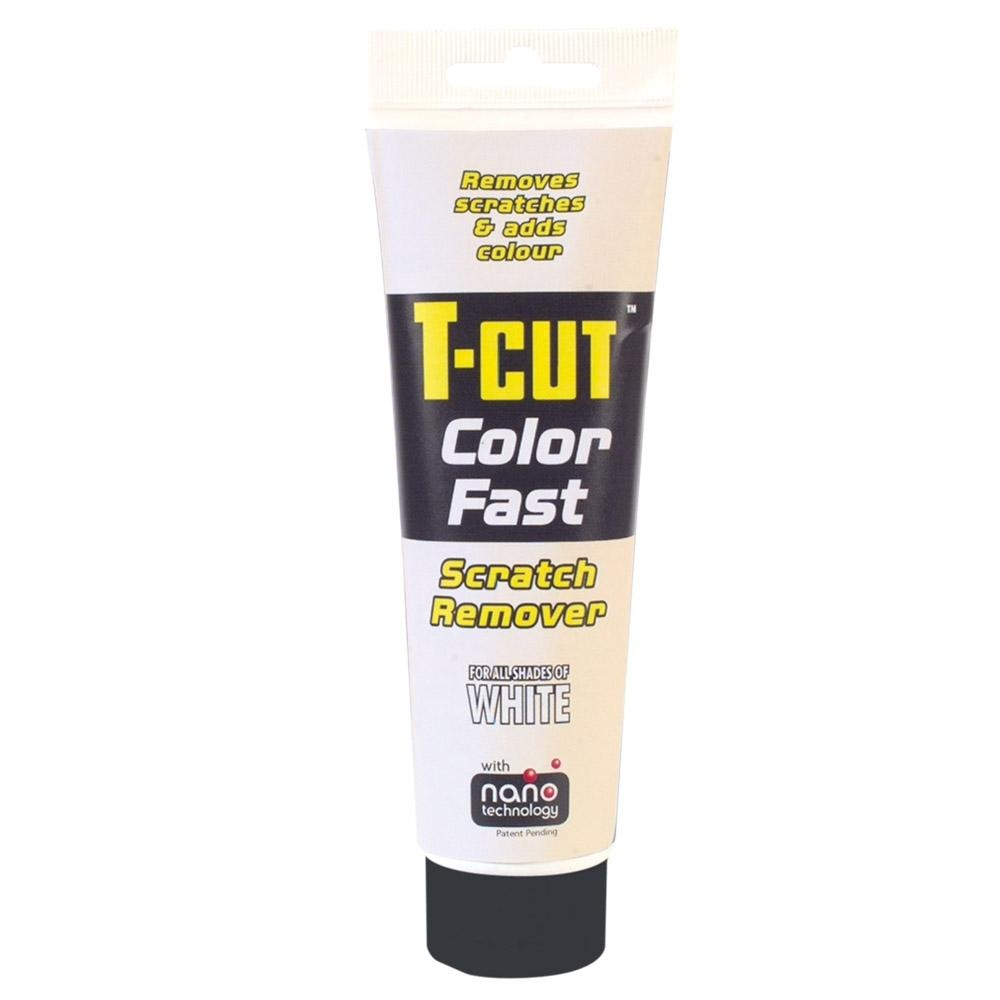 White T-Cut Color Fast scratch remover from Direct Car Parts