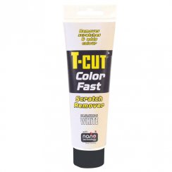 T-Cut Color Fast scratch remover for white cars