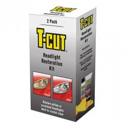 THK001 T-Cut plastic car headlight restoration kit