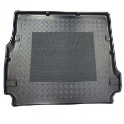 Tailored-fit anti-slip car boot liner for Land Rover Discovery 3 and 4