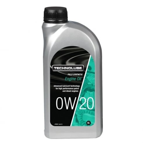 Technolube car engine oil 0w20 fully synthetic 1 litre