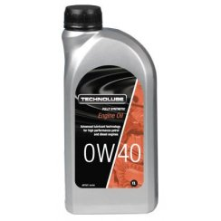 Technolube car engine oil 0w40 fully synthetic 1 litre