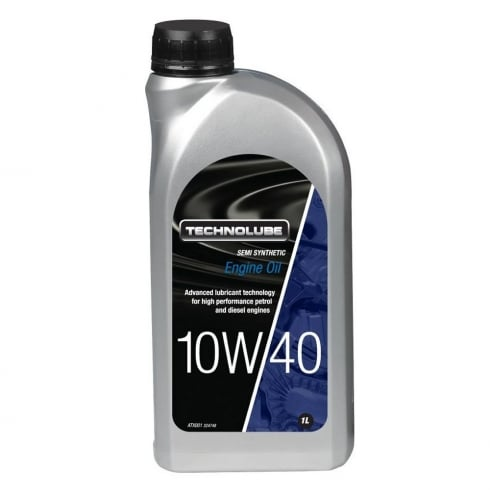 Technolube car engine oil 10w40 semi synthetic 1 litre ACEA A3/B3
