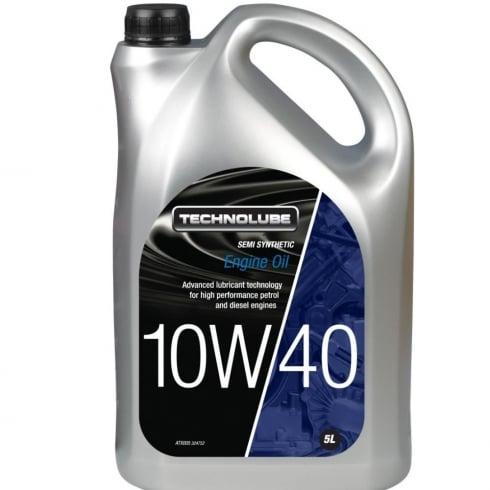 Technolube car engine oil 10w40 semi synthetic 5 litre ACEA A3/B3