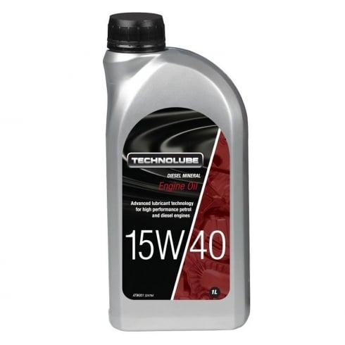 Technolube car engine oil 15w40 diesel mineral 1 litre