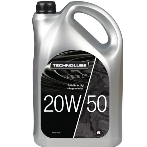 Technolube car engine oil 20w50 5 litre (NOT SUITABLE FOR TURBO)