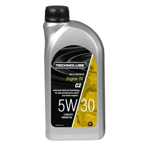 Technolube car engine oil 5w30 C2 fully synthetic 1 litre