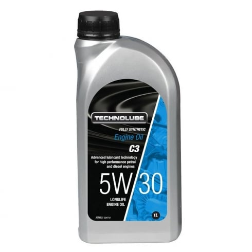 Technolube car engine oil 5w30 C3 fully synthetic 1 litre