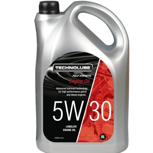 Technolube car engine oil 5w30 fully synthetic 5 litre  ACEA C3