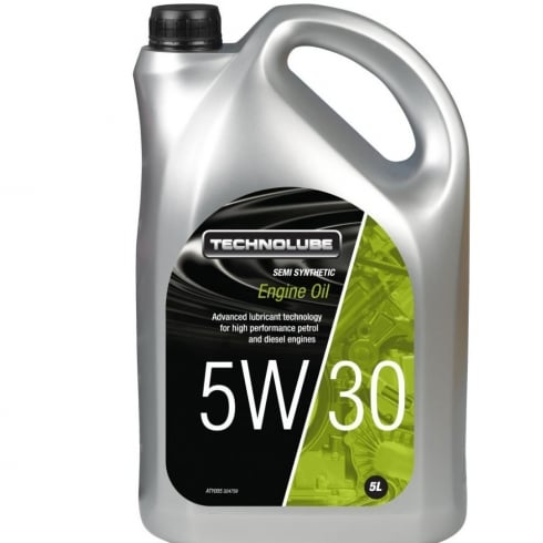 Technolube car engine oil 5w30 semi synthetic 5 litre Ford M2C 913-A/B