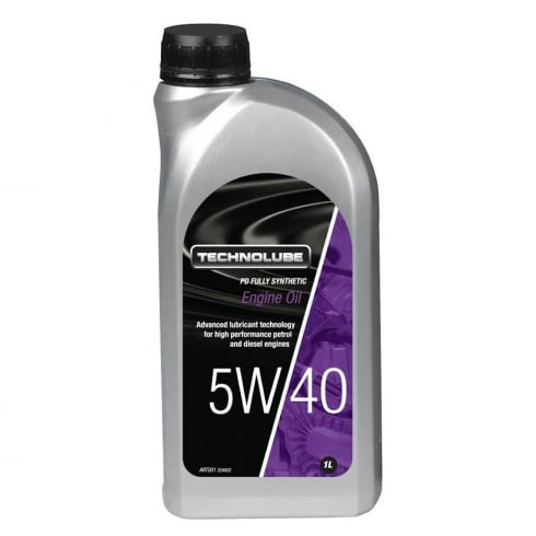 Technolube car engine oil 5w40 PD fully synthetic 1 litre