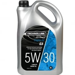 GM Dexos II / BMW LL-04 engine oil 5w30 C3 fully synthetic 5 litre