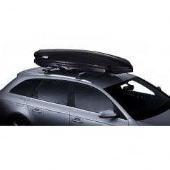 612800 dynamic black glossy roof box - 320 litres