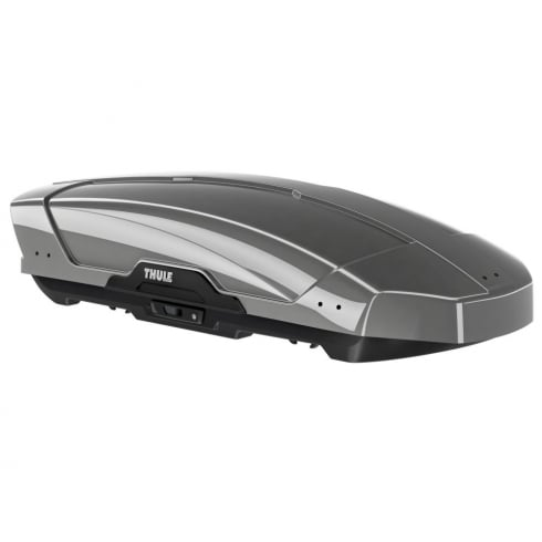 Thule 629200 Motion XT glossy titanium roof box - 400 litres