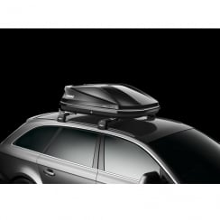 634101 touring 100 black gloss roof box - 330 litres