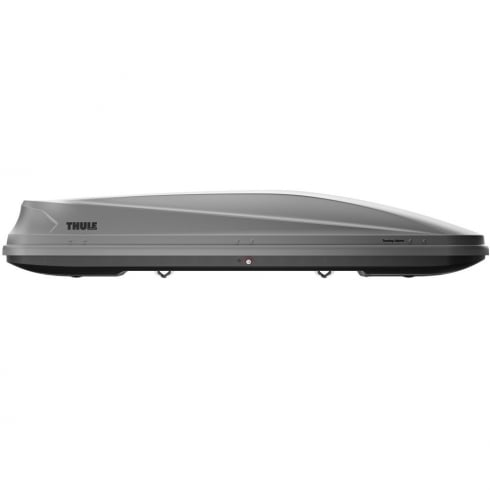 Thule 634700 touring Alpine 700 glossy titanium roof box - 430 litres