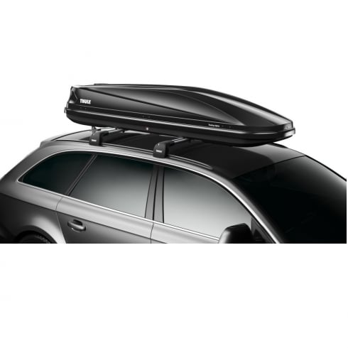 Thule 634701 touring Alpine 700 black gloss roof box - 430 litres