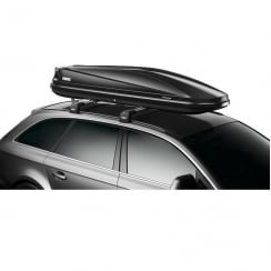634701 touring Alpine 700 black gloss roof box - 430 litres