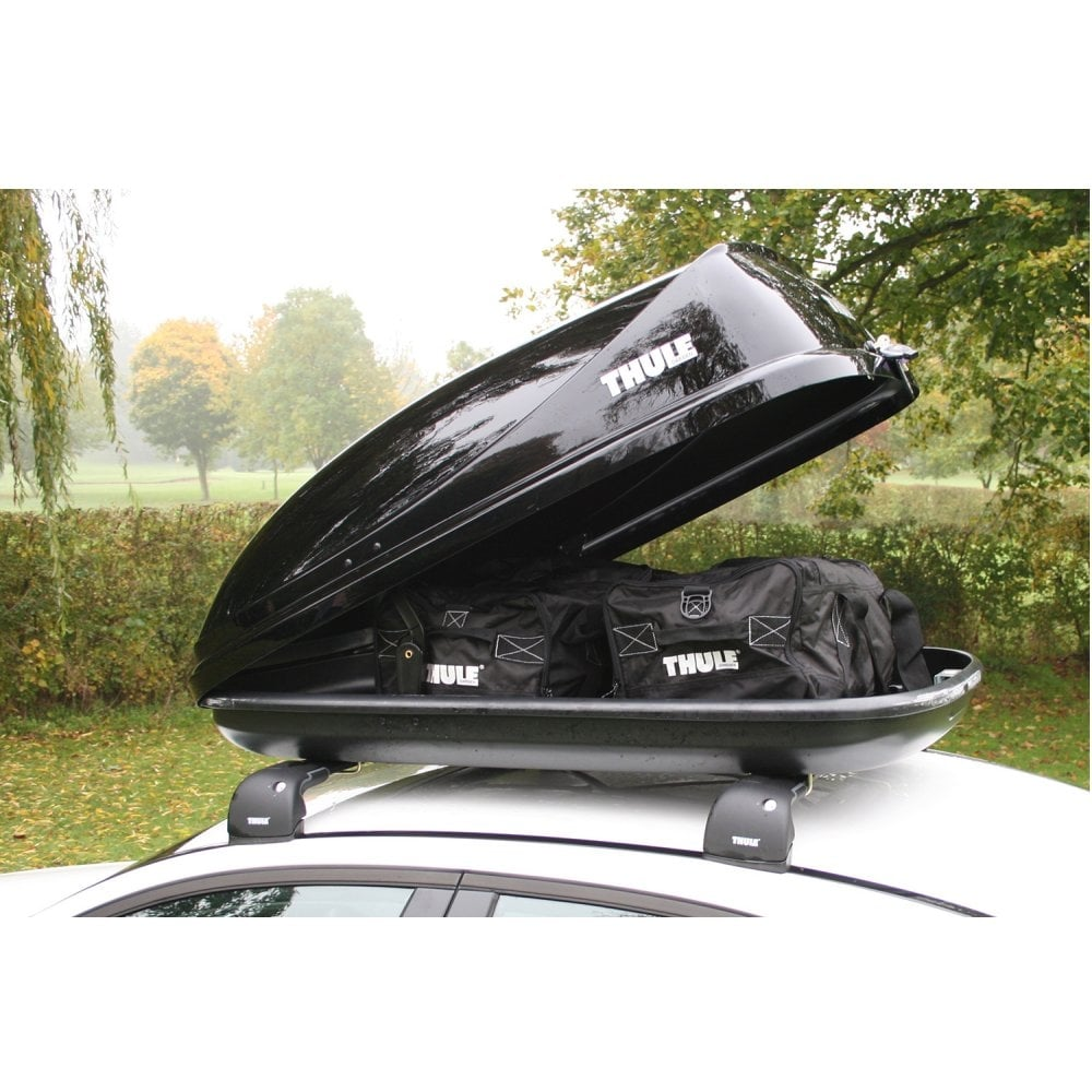 688006 Ocean 80 Black Gloss Car Roof Box