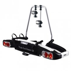 928 EuroClassic G6 2 bike tow bar mounted bike rack with 13 pin electrics