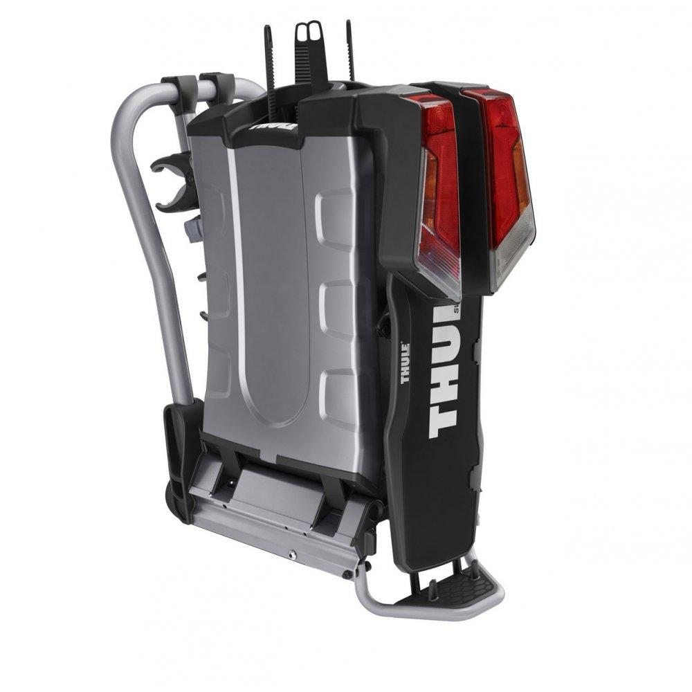 Thule 931 easy fold tow ball mounted 2 bike carrier for Porte velo thule