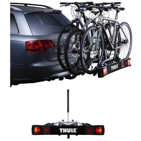 Thule 9503 RideOn bike carrier/ tow bar mount for 3 bikes