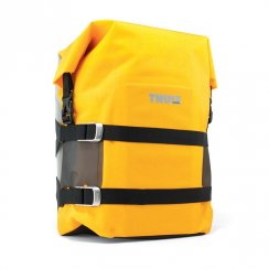Pack n Pedal small adventure touring pannier bag - Zinnia