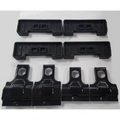roof bar fitting kit 1454 rapid fixpoint Nissan Qashqai 2007-2013