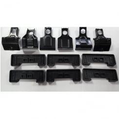 roof bar fitting kit 1598 for Fiat Punto / Punto Evo 2009>