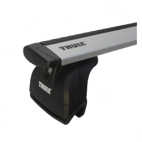 Thule roof bar system for Vauxhall Meriva 5 door MPV 2003-2009 with roof fix points