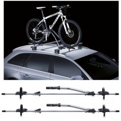 Twin pack of 532 FreeRide roof mounted cycle carriers
