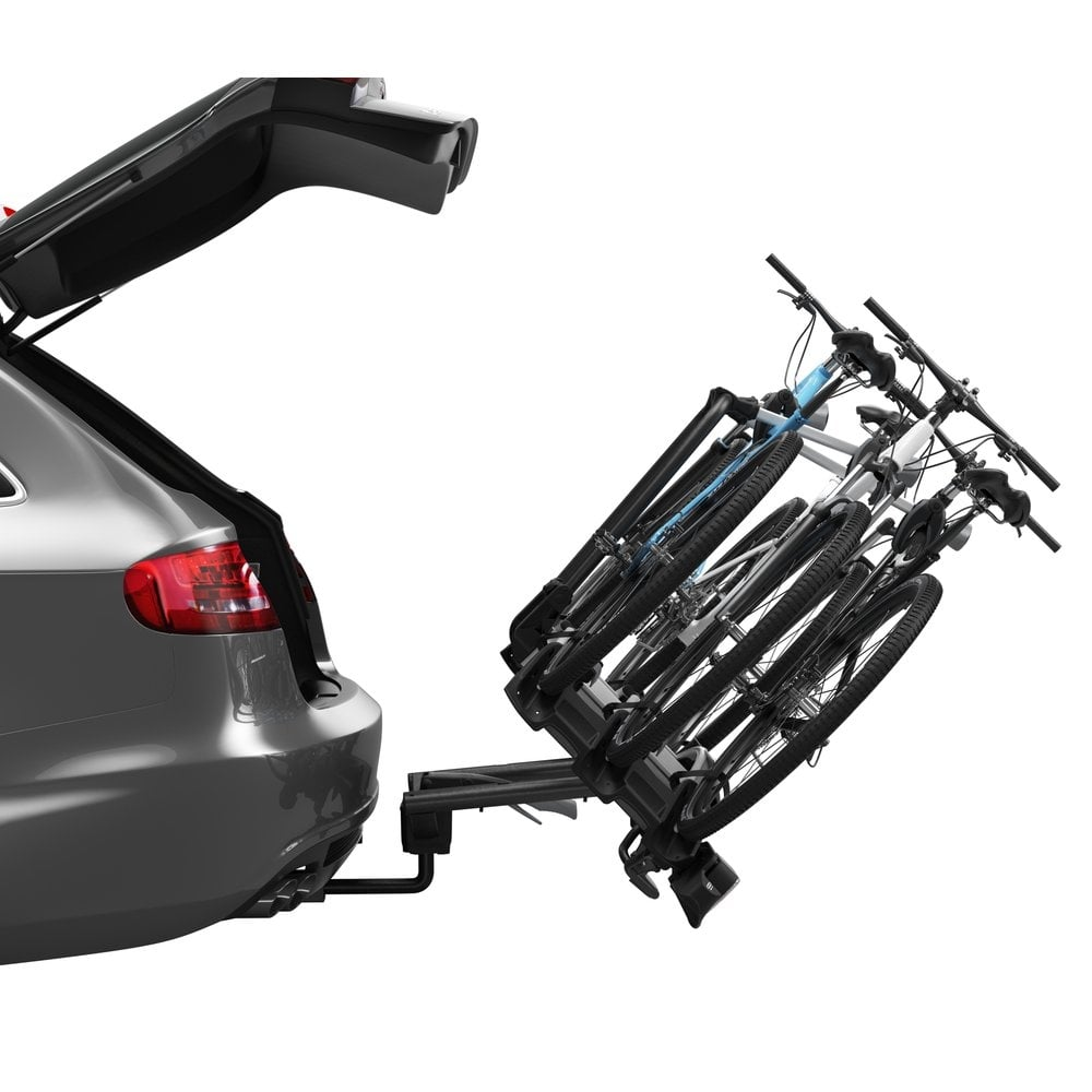 thule 927 velo compact tow ball mounted 3 bike carrier. Black Bedroom Furniture Sets. Home Design Ideas