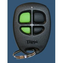 Spare 4 button remote key fob transmitter for Toad car alarm. (AI606)