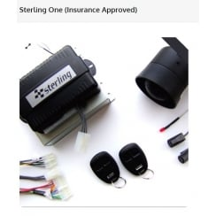 Toad Sterling ONE Alarm System Thatcham Cat 1. Insurance approved