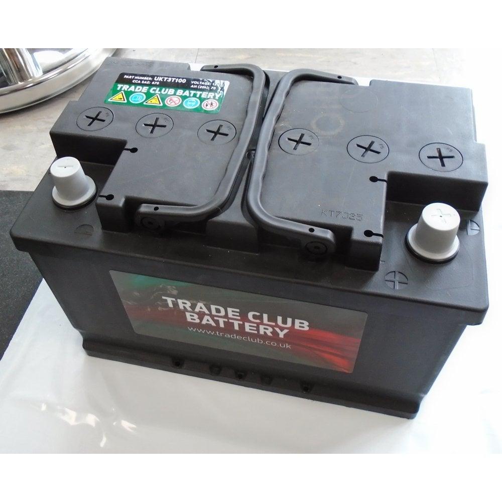 Trade Club 100 Car Battery 3 Year Warranty Car Parts