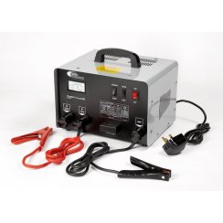 TradeCharge 35 amp professional battery charger with 180 amp jump starter