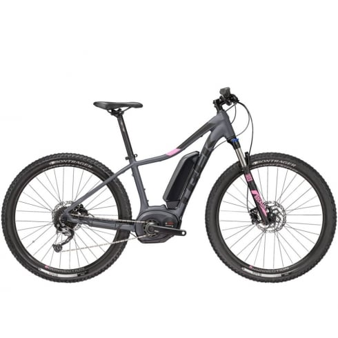 Trek 2018 Powerfly 4 ladies electric mountain bike with Bosch Performance CX motor / 500wh battery - Charcoal grey