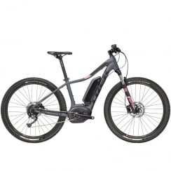 2018 Powerfly 4 ladies electric mountain bike with Bosch Performance CX motor / 500wh battery - Charcoal grey