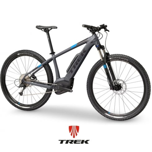 Trek 2018 Powerfly 5 electric mountain bike with Bosch Performance CX motor / 500wh battery - Charcoal/Black