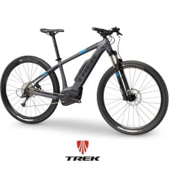 2018 Powerfly 5 electric mountain bike with Bosch Performcane CX motor / 500wh battery - Charcoal/Black