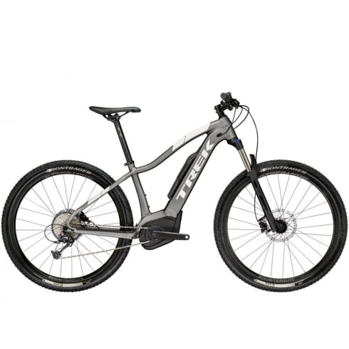 Trek 2018 Powerfly 5 ladies electric mountain bike with Bosch Performance CX motor / 500wh battery - Anthracite/White